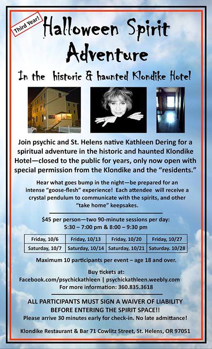 halloween spirit adventure in the klondike hotel