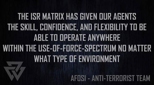 ISR Matrix Vertical Core Enhanced  LE DTs - Canberra