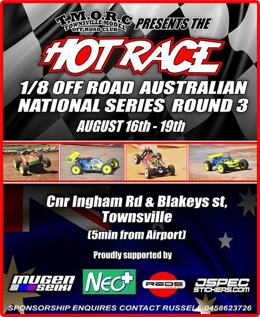 2018 Hot Race 18 Off Road Australian National Series - Round 3