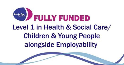 Free Level 1 Health & Social CareChildren & Young People Course
