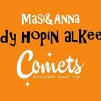 Lindy hop Alkeet B loppukausi (Masi Saurn ja Anna Tyutyunyuk)