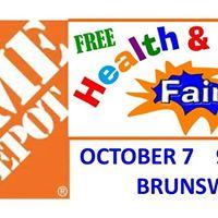 Brunswick Home Depot Safety Fair
