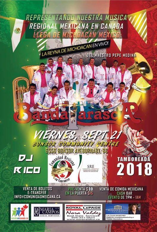 Tamboreada 2018 con la Banda Tarasca