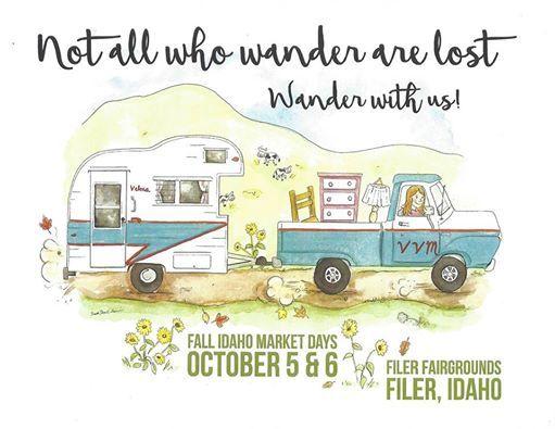 "Vintage Vixens ""Fall Idaho Market Days"""