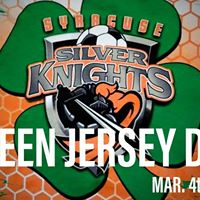 Silver Knights Green Jersey Day