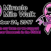 Miracle Mile Walk - Augusta SteelMasters