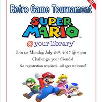 Retro Game Tournament