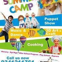 Summer Camp - Art &amp Craft Week