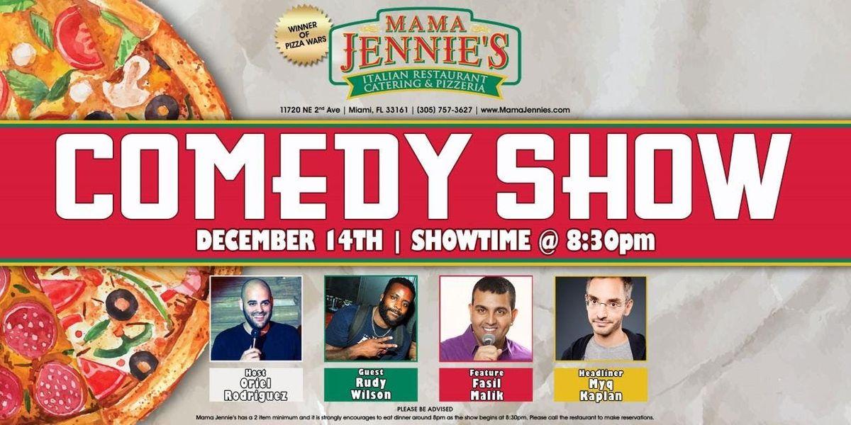 Comedy Night at Mama Jennies Italian Restaurant- Carmen Morales