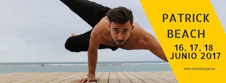 Patrick Beach llega a Lima para el Yoga Workshops 2017