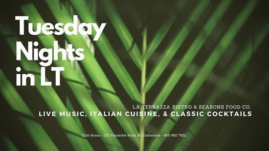 Tuesday Nights At La Terrazza Live Music All Summer Long