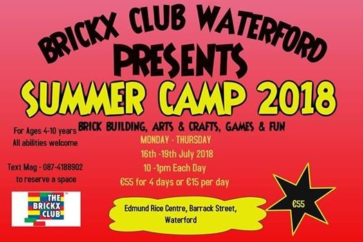 Brickx Club Waterford Summer Camp