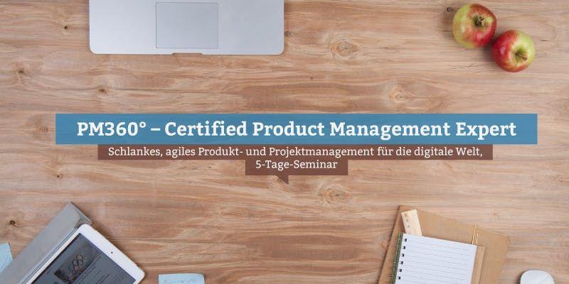 PM360  Certified Product Management Expert Stuttgart