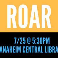 ROAR A Story Telling Event