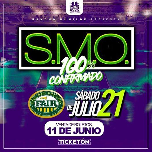 SMO Tour 2018  FresnoCA