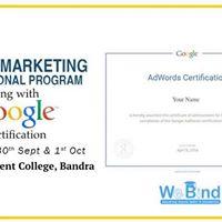Digital Marketing Program w Google Adwords Certification