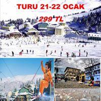 Bursa Uluda Turu (19-21 Ocak)SADECE 299 Tl