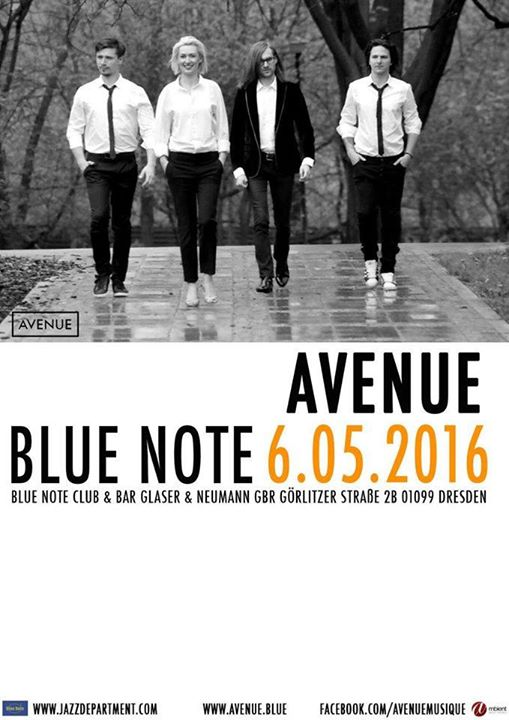 Avenues concert in Blue Note Dresden