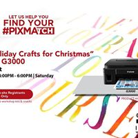 DIY Pre-Holiday Crafts for Christmas with PIXMA G3000