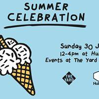 Summer Celebration at Hub67  The Yard