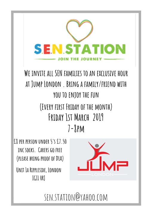 SEN session at Jump London