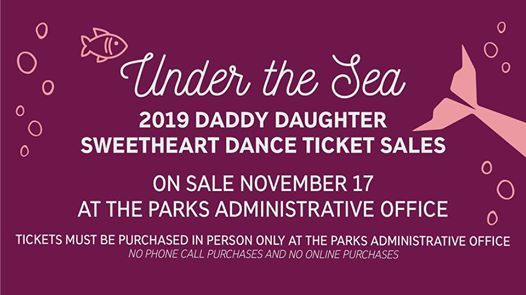 Daddy Daughter Dance Ticket Sales