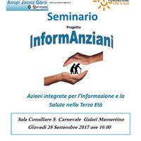 Seminario Progetto Informanziani