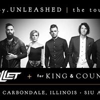 Skillet  for KING &amp Country in Carbondale IL