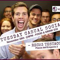 Rome Expats Tuesday Casual Social (TESTACCIO)