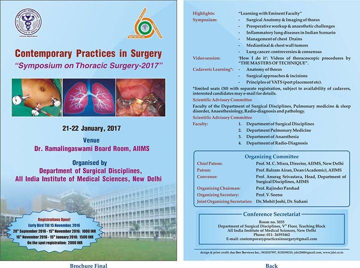 Symposium on Thoracic Surgery