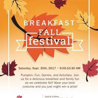 Breakfast Fall Festival
