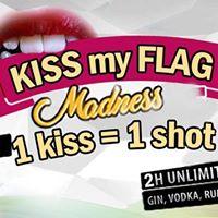 Open Bar Madness KISS MY FLAG  Thursday Mitty