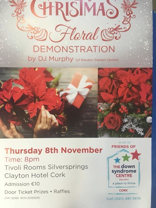 Christmas Floral Demonstration