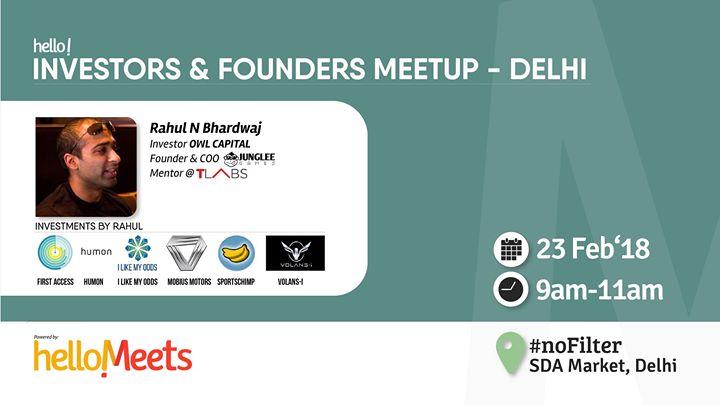 Investors & Founder Meetup