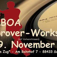 Balboa-Workshop fr Fortgeschrittene am 19.November 2017