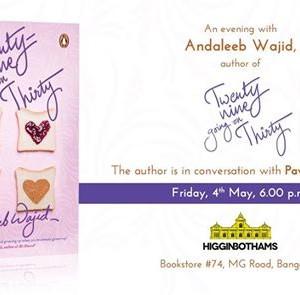 An evening with Andaleeb Wajid