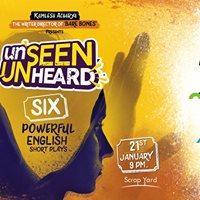 Unseen Unheard at Scrapyard