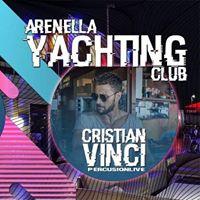 Stasera_Venerd 11  Arenella Yachting Club_Cena &amp Party_ Cristian Vinci PercusionLive_