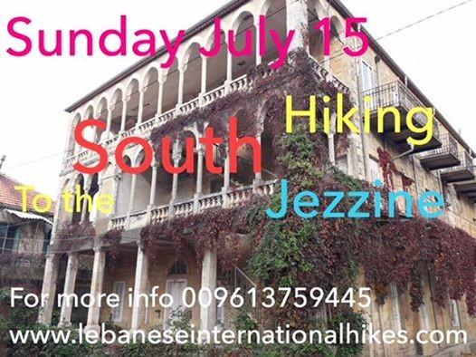 Sun Jul 15 - Jezzine