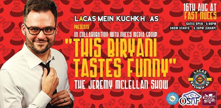 This Biryani Tastes Funny- FAST Edition