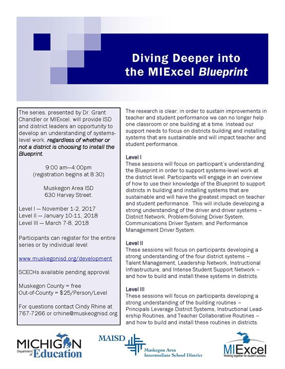 Diving deeper into the miexcel blueprint at muskegon area isd muskegon advertisement malvernweather Image collections