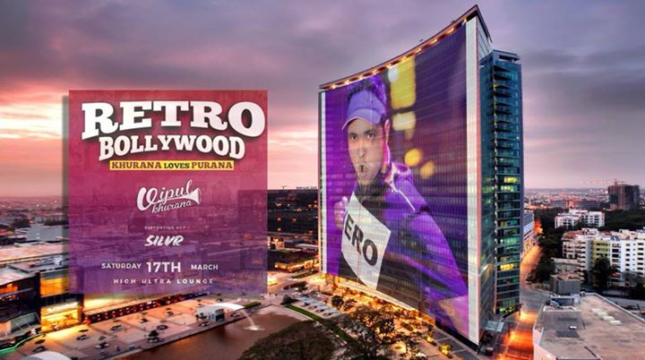Bollywood Night with VK at High Ultra Lounge
