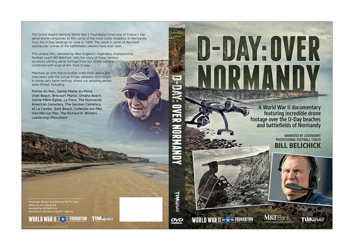 World Premiere of Bill Belichick Narrated D-Day Over Normandy