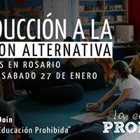 Curso &quotIntroduccin a la Educacin Alternativa&quot en Rosario