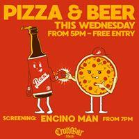 Pizza &amp Beer Movie Night - Encino Man - Crowbar Black 18