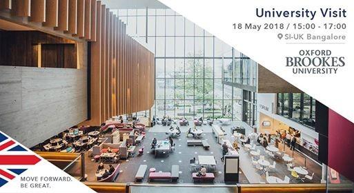 Oxford Brookes University Visiting SI-UK Bangalore