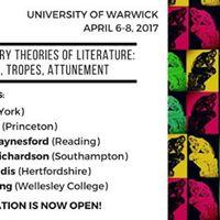 21st-Century Theories of Literature Ethics Tropes Attunement