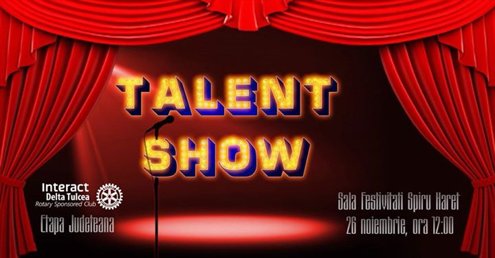 Talent Show- 2017 by Interact Delta Tulcea