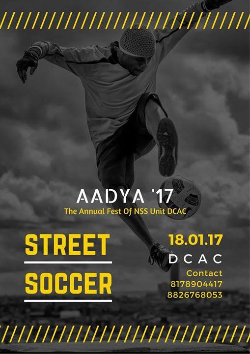 Aadya17- Street Soccer Showdown