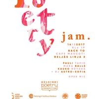 Poetry Jam Back to Mascot